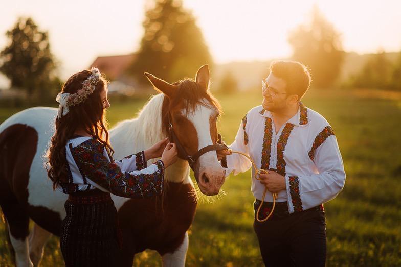 Povești Nunți Tradiționale - Simina și Andrei - Cu veselie despre nunta tradițională din Horodnic, Suceava 16