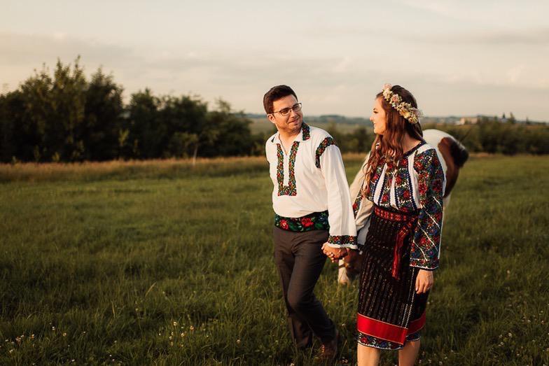 Povești Nunți Tradiționale - Simina și Andrei - Cu veselie despre nunta tradițională din Horodnic, Suceava 10