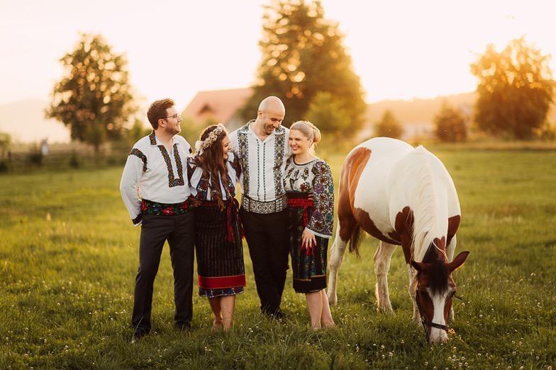 Povești Nunți Tradiționale - Simina și Andrei - Cu veselie despre nunta tradițională din Horodnic, Suceava 8