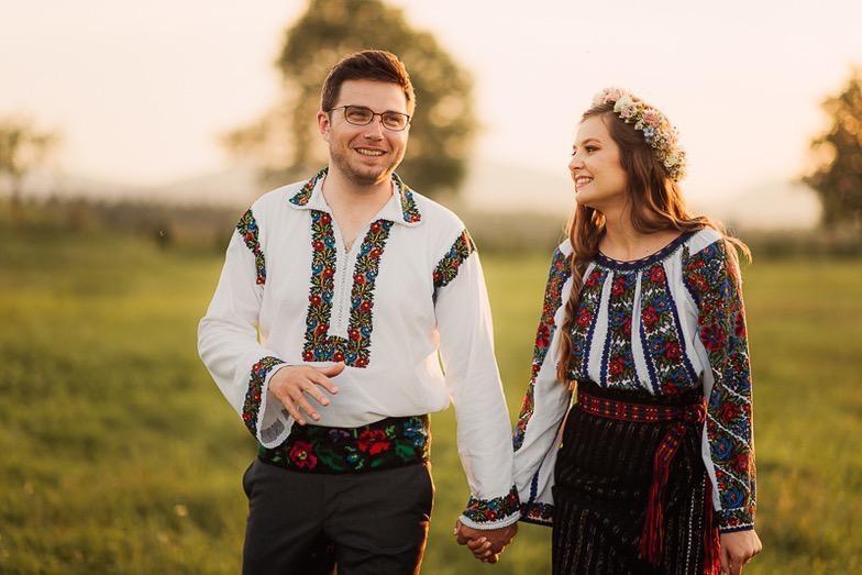 Povești Nunți Tradiționale - Simina și Andrei - Cu veselie despre nunta tradițională din Horodnic, Suceava 5