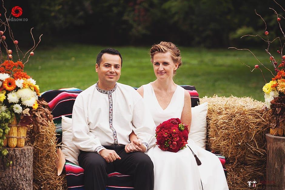 Povești Nunți Tradiționale - Ionatan și Andrea - Nuntă în Crișana. Să ne îmbătăm cu veselia nunții, în culorile toamnei 66