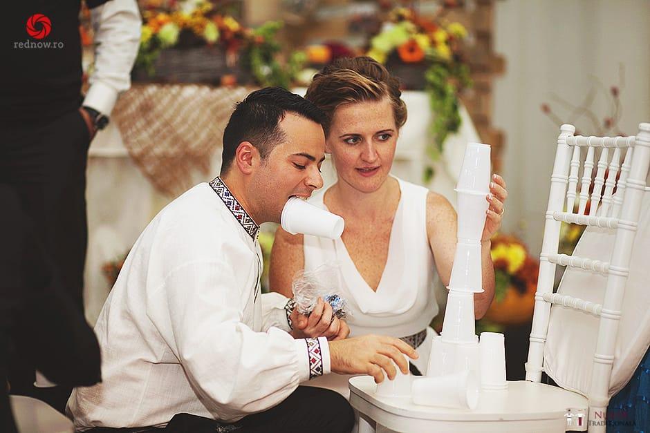 Povești Nunți Tradiționale - Ionatan și Andrea - Nuntă în Crișana. Să ne îmbătăm cu veselia nunții, în culorile toamnei 44