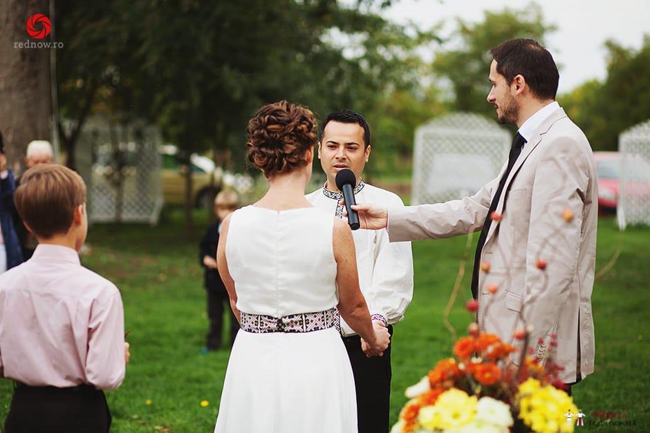 Povești Nunți Tradiționale - Ionatan și Andrea - Nuntă în Crișana. Să ne îmbătăm cu veselia nunții, în culorile toamnei 26