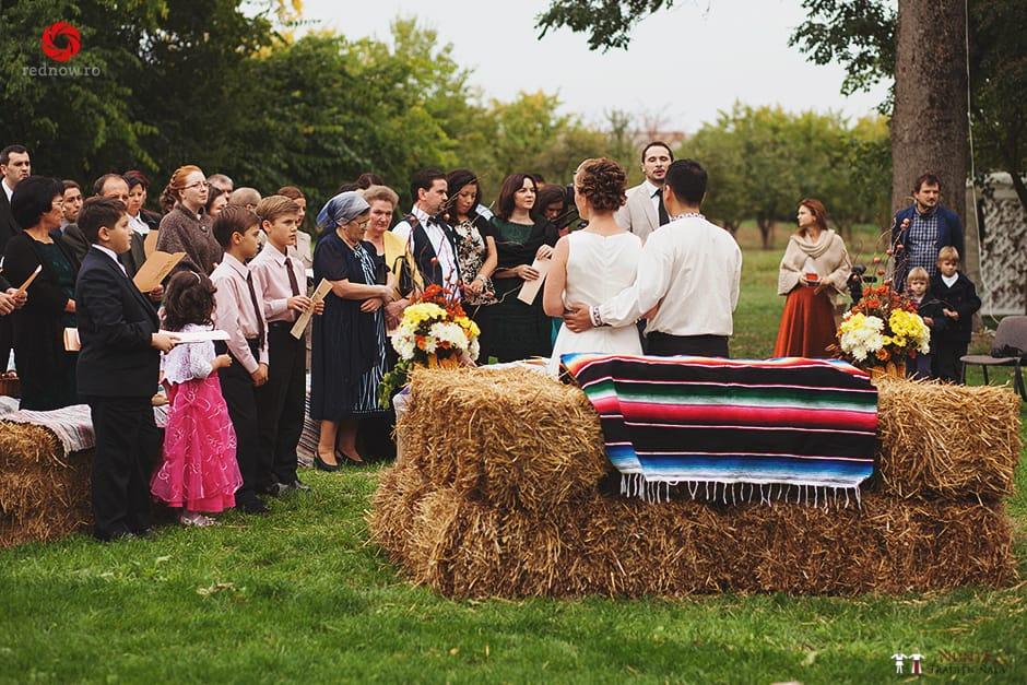 Povești Nunți Tradiționale - Ionatan și Andrea - Nuntă în Crișana. Să ne îmbătăm cu veselia nunții, în culorile toamnei 11