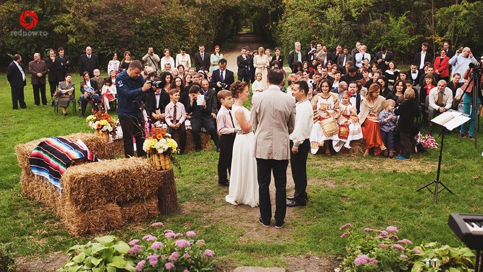 Povești Nunți Tradiționale - Ionatan și Andrea - Nuntă în Crișana. Să ne îmbătăm cu veselia nunții, în culorile toamnei 10