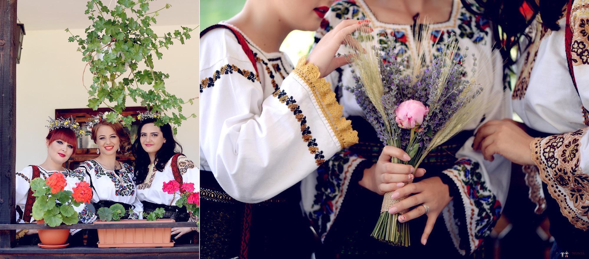Povești Nunți Tradiționale - Iulia și Andrei. Nuntă tradițională în Bucovina. 9