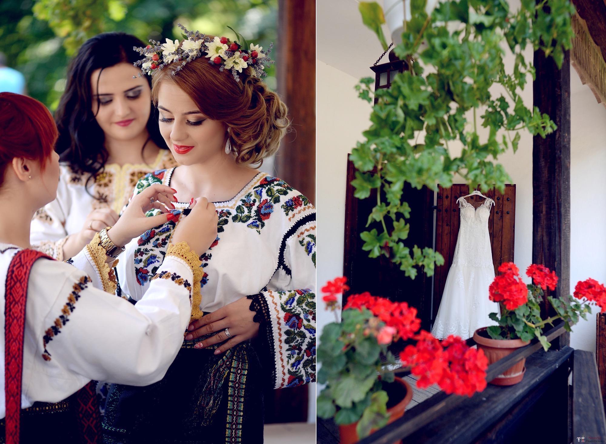 Povești Nunți Tradiționale - Iulia și Andrei. Nuntă tradițională în Bucovina. 1
