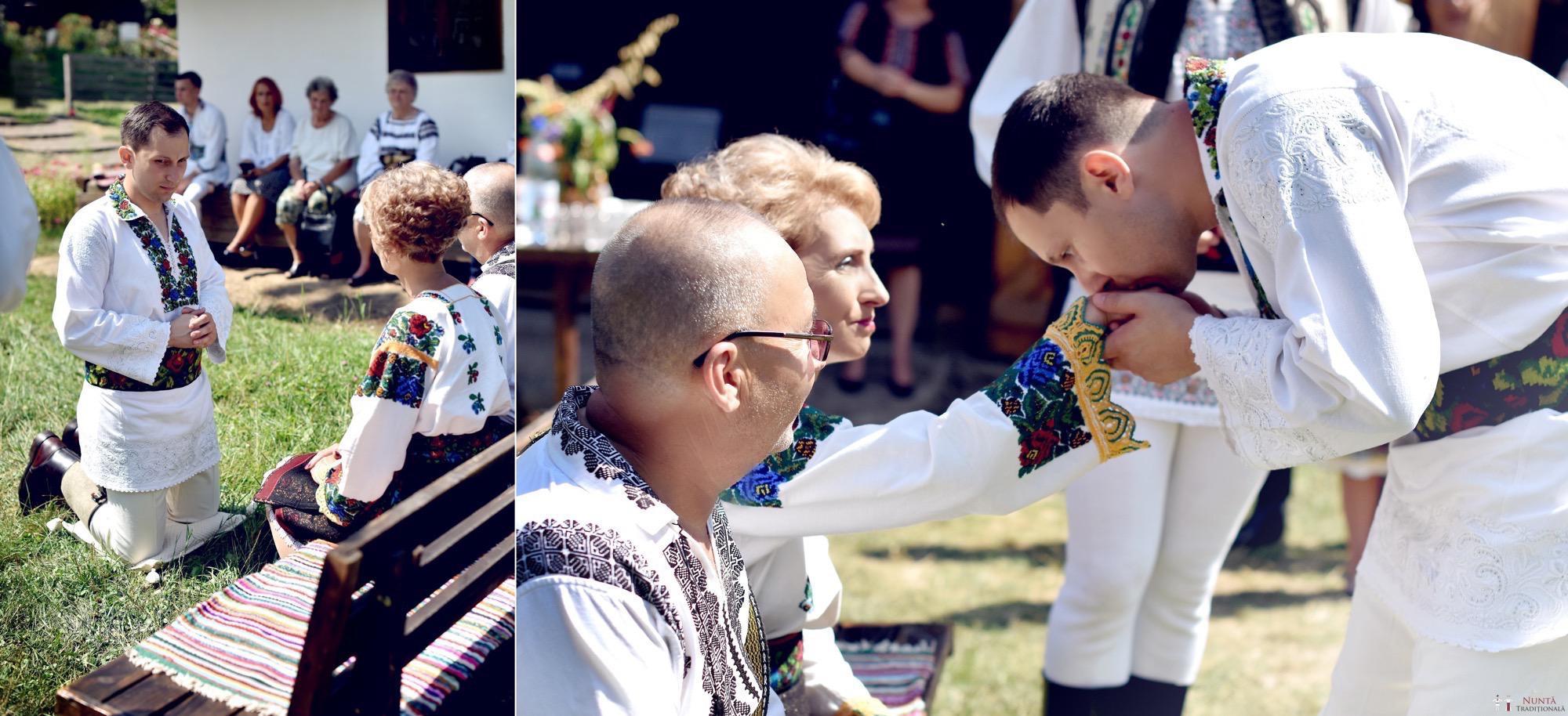 Povești Nunți Tradiționale - Iulia și Andrei. Nuntă tradițională în Bucovina. 38