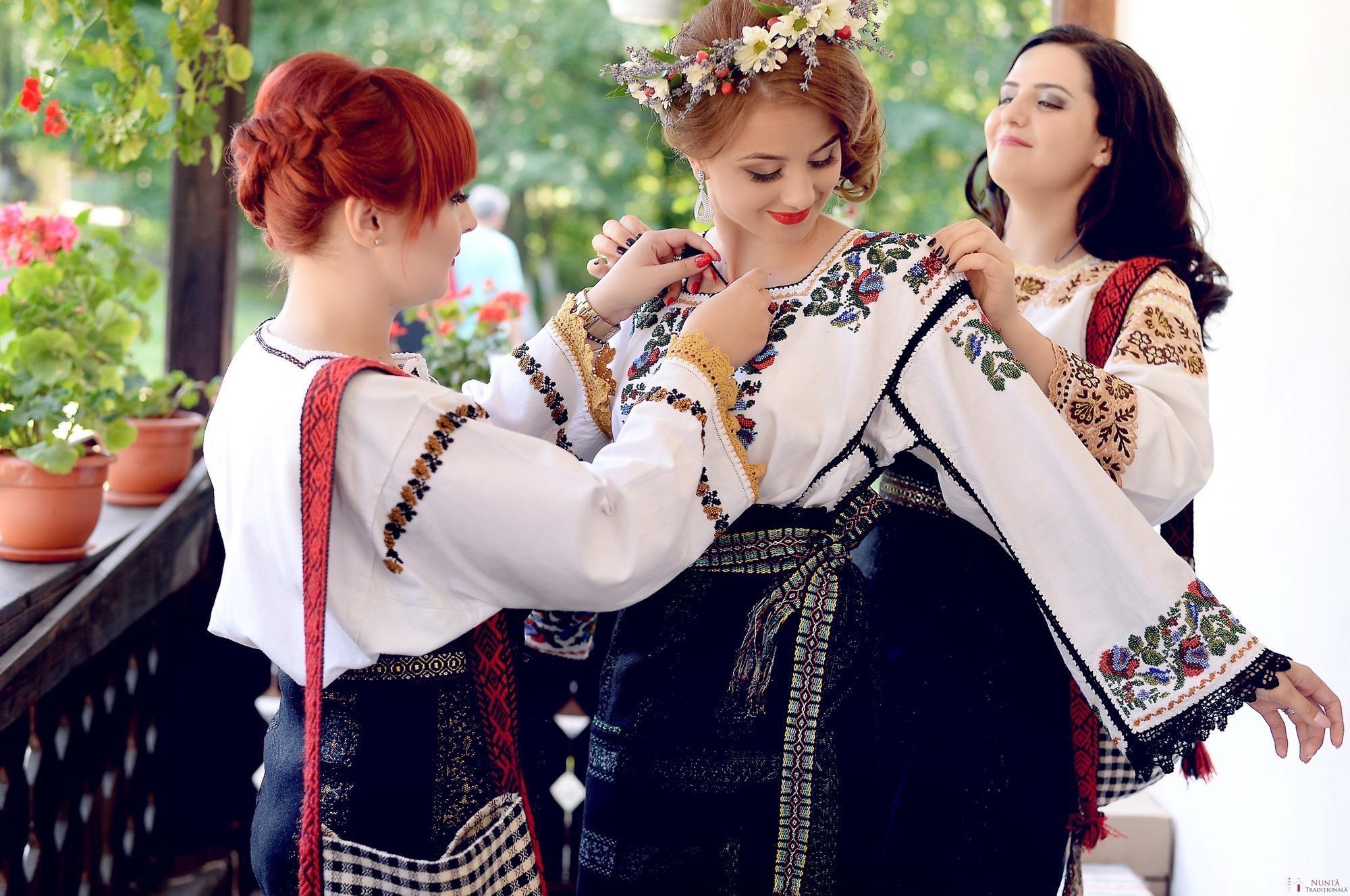 Povești Nunți Tradiționale - Iulia și Andrei. Nuntă tradițională în Bucovina. 3