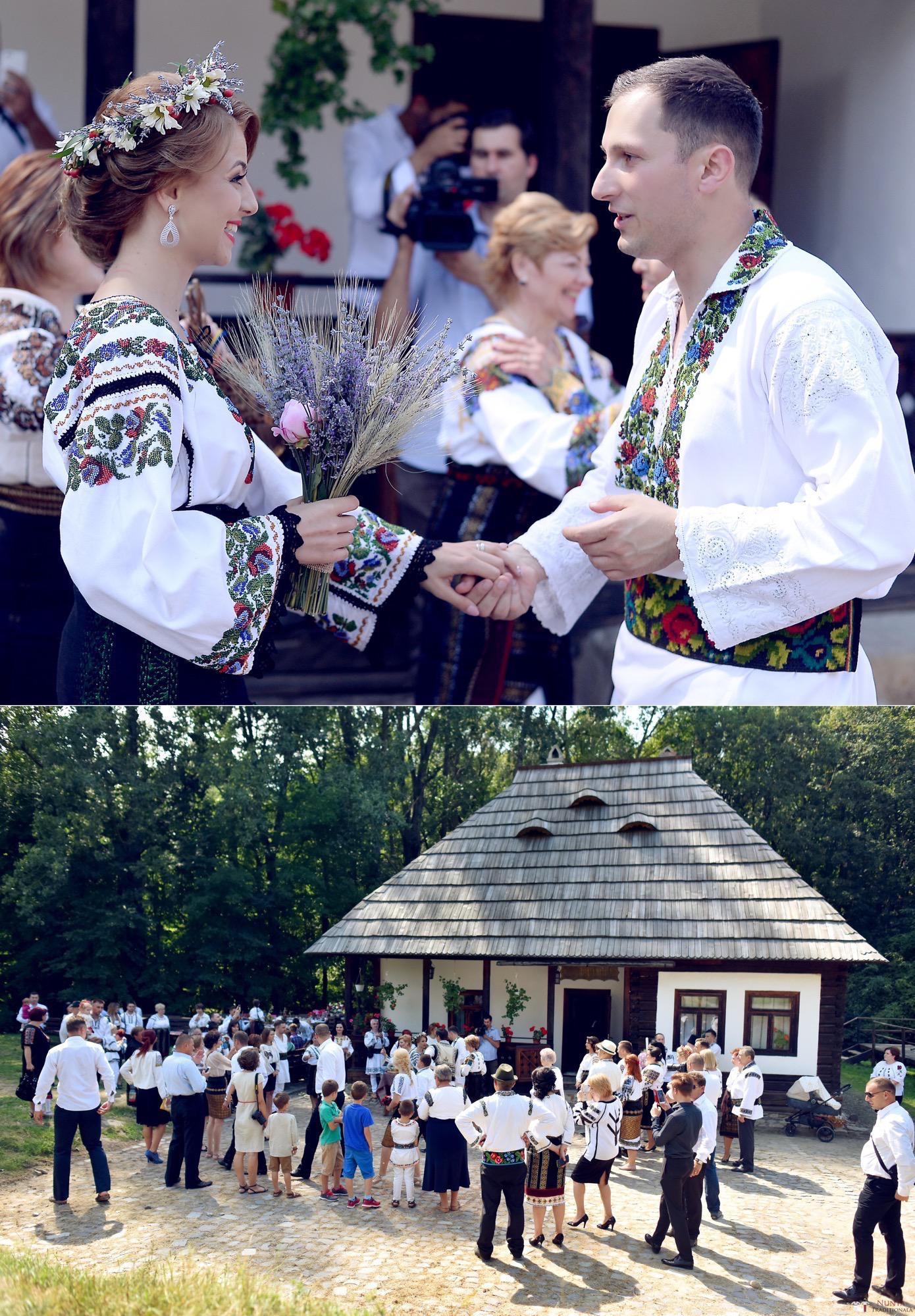Povești Nunți Tradiționale - Iulia și Andrei. Nuntă tradițională în Bucovina. 43