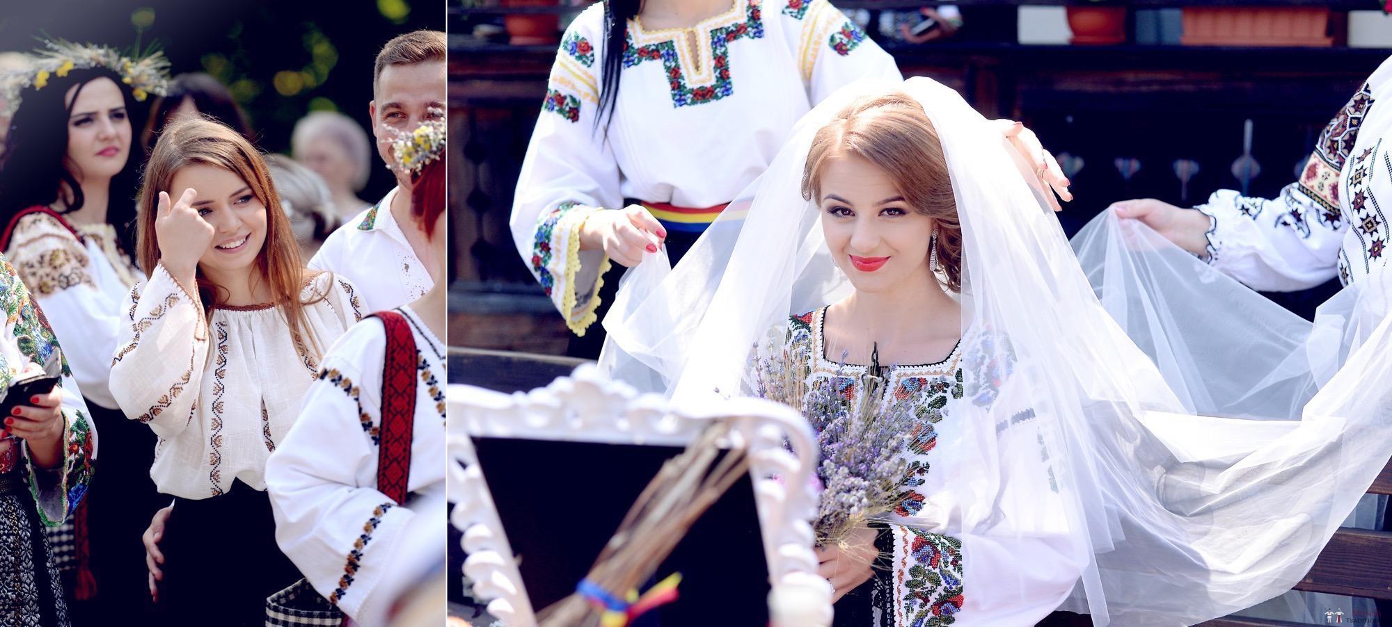 Povești Nunți Tradiționale - Iulia și Andrei. Nuntă tradițională în Bucovina. 44