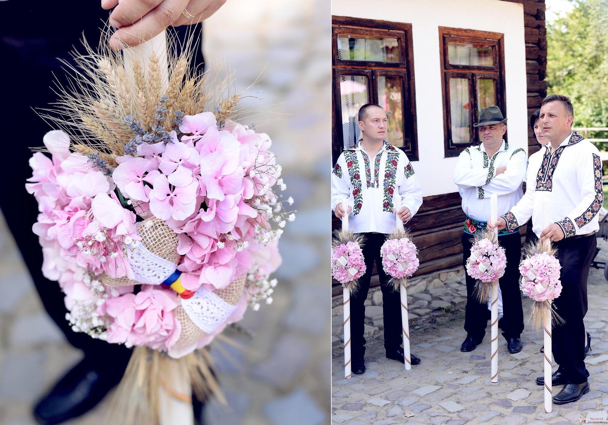 Povești Nunți Tradiționale - Iulia și Andrei. Nuntă tradițională în Bucovina. 45