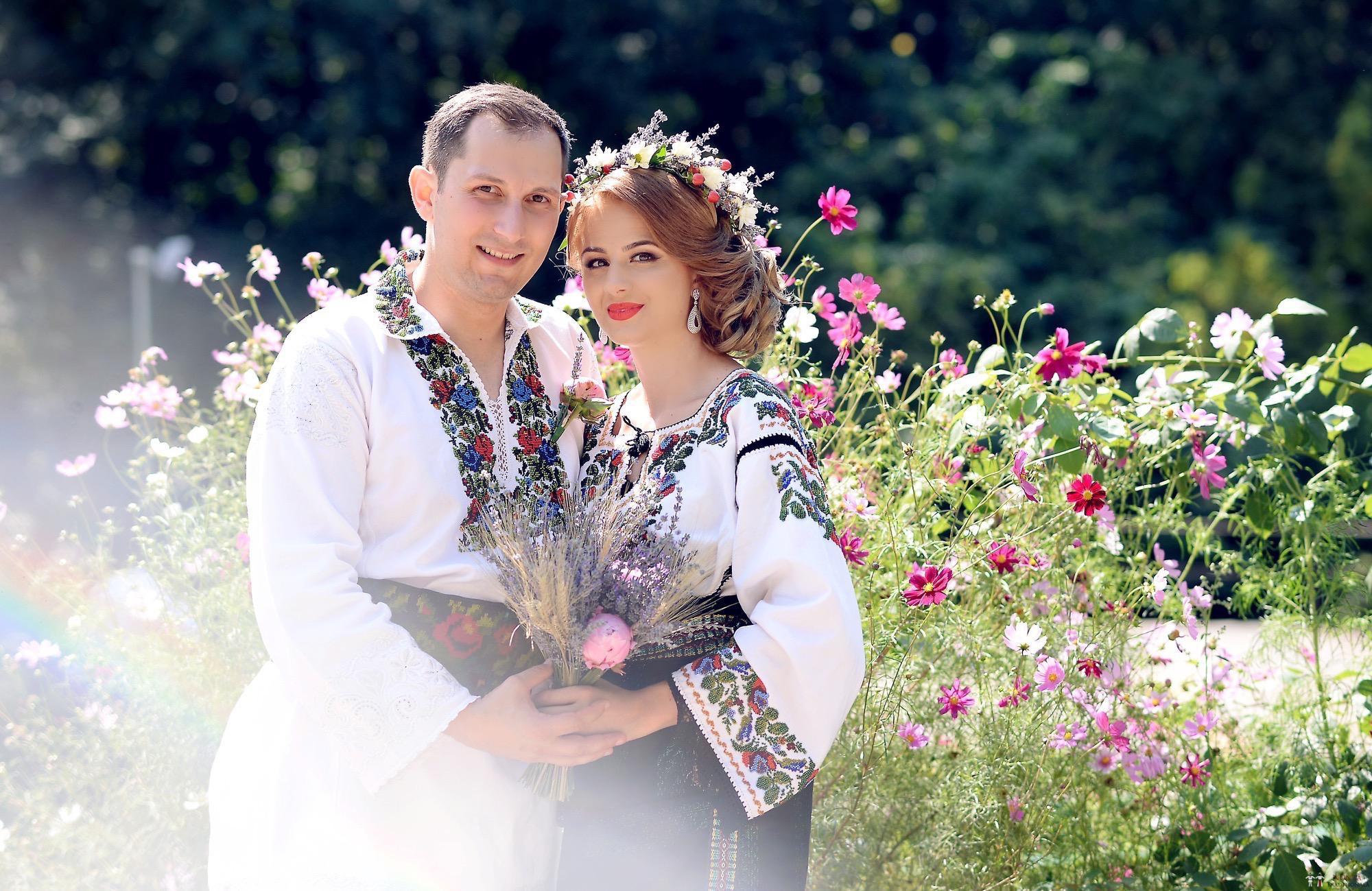 Povești Nunți Tradiționale - Iulia și Andrei. Nuntă tradițională în Bucovina. 50