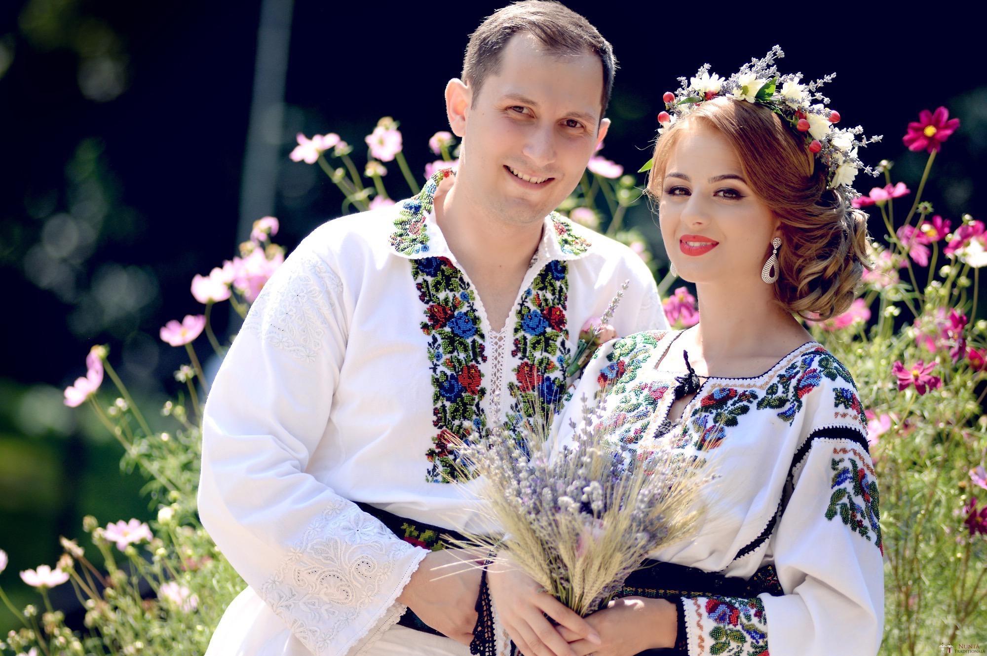 Povești Nunți Tradiționale - Iulia și Andrei. Nuntă tradițională în Bucovina. 52