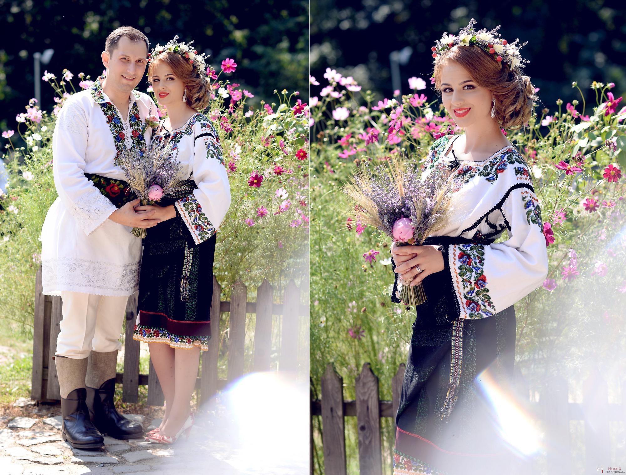 Povești Nunți Tradiționale - Iulia și Andrei. Nuntă tradițională în Bucovina. 54