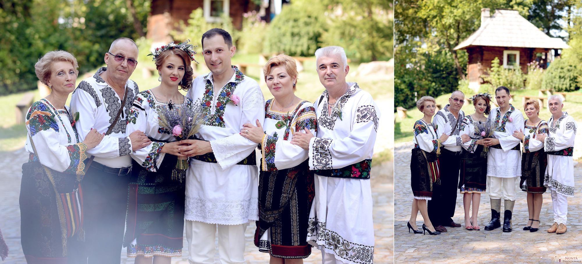 Povești Nunți Tradiționale - Iulia și Andrei. Nuntă tradițională în Bucovina. 55