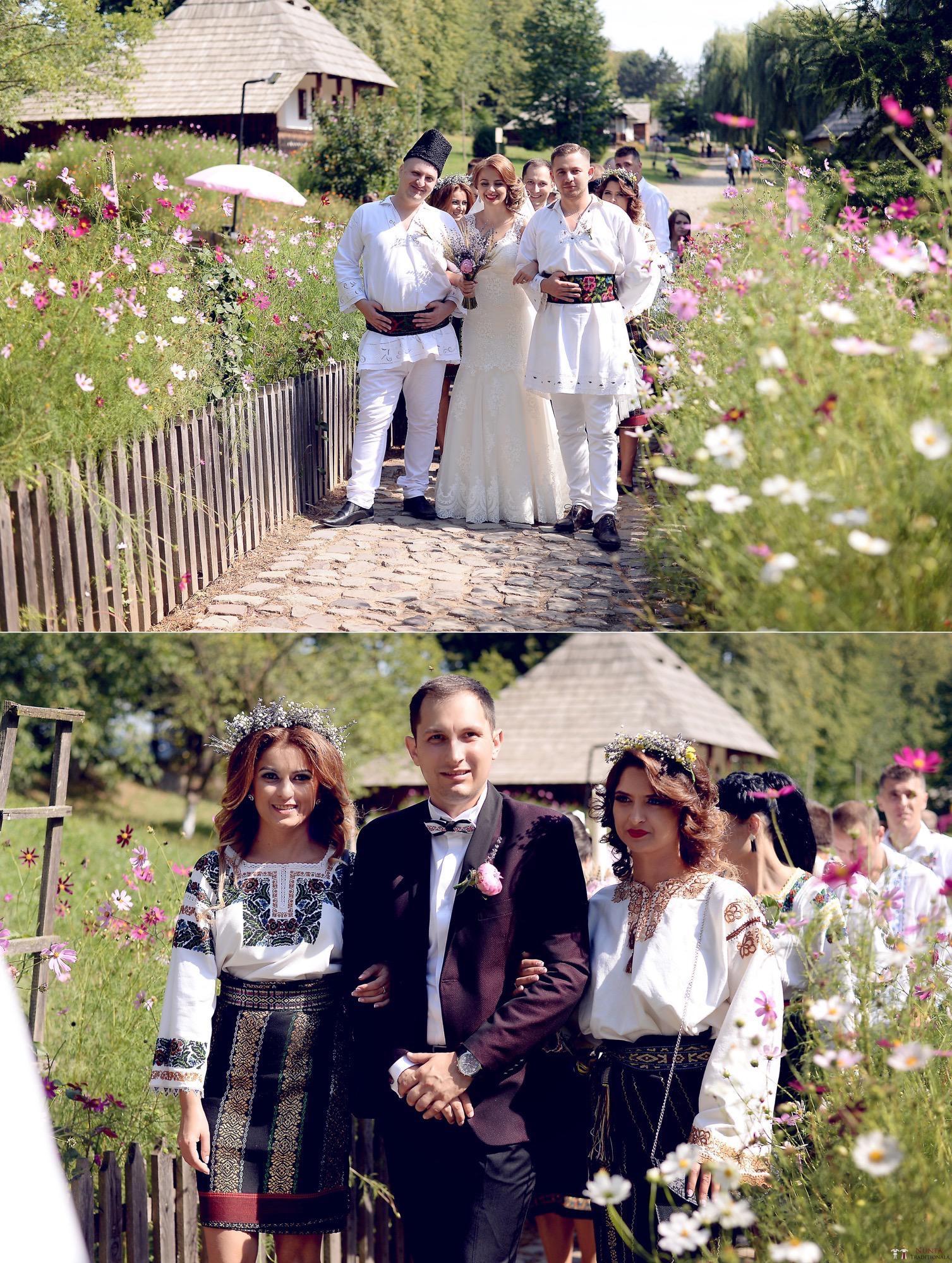 Povești Nunți Tradiționale - Iulia și Andrei. Nuntă tradițională în Bucovina. 57