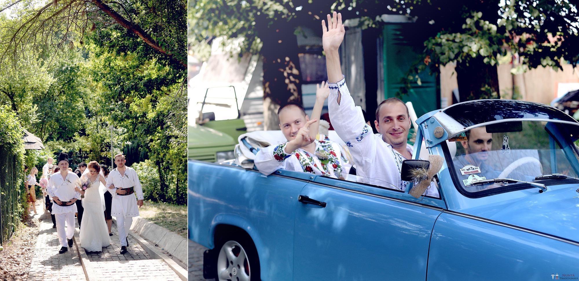 Povești Nunți Tradiționale - Iulia și Andrei. Nuntă tradițională în Bucovina. 58