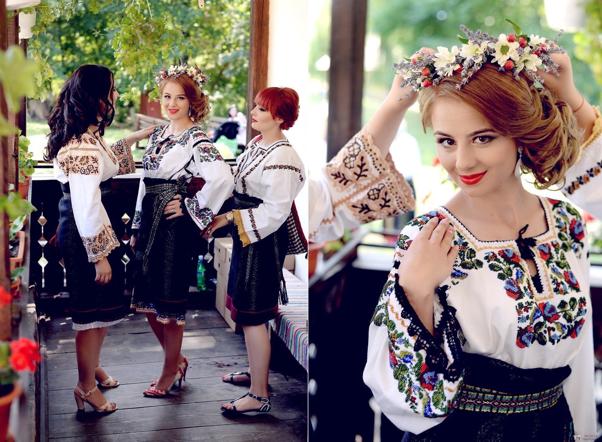 Povești Nunți Tradiționale - Iulia și Andrei. Nuntă tradițională în Bucovina. 6