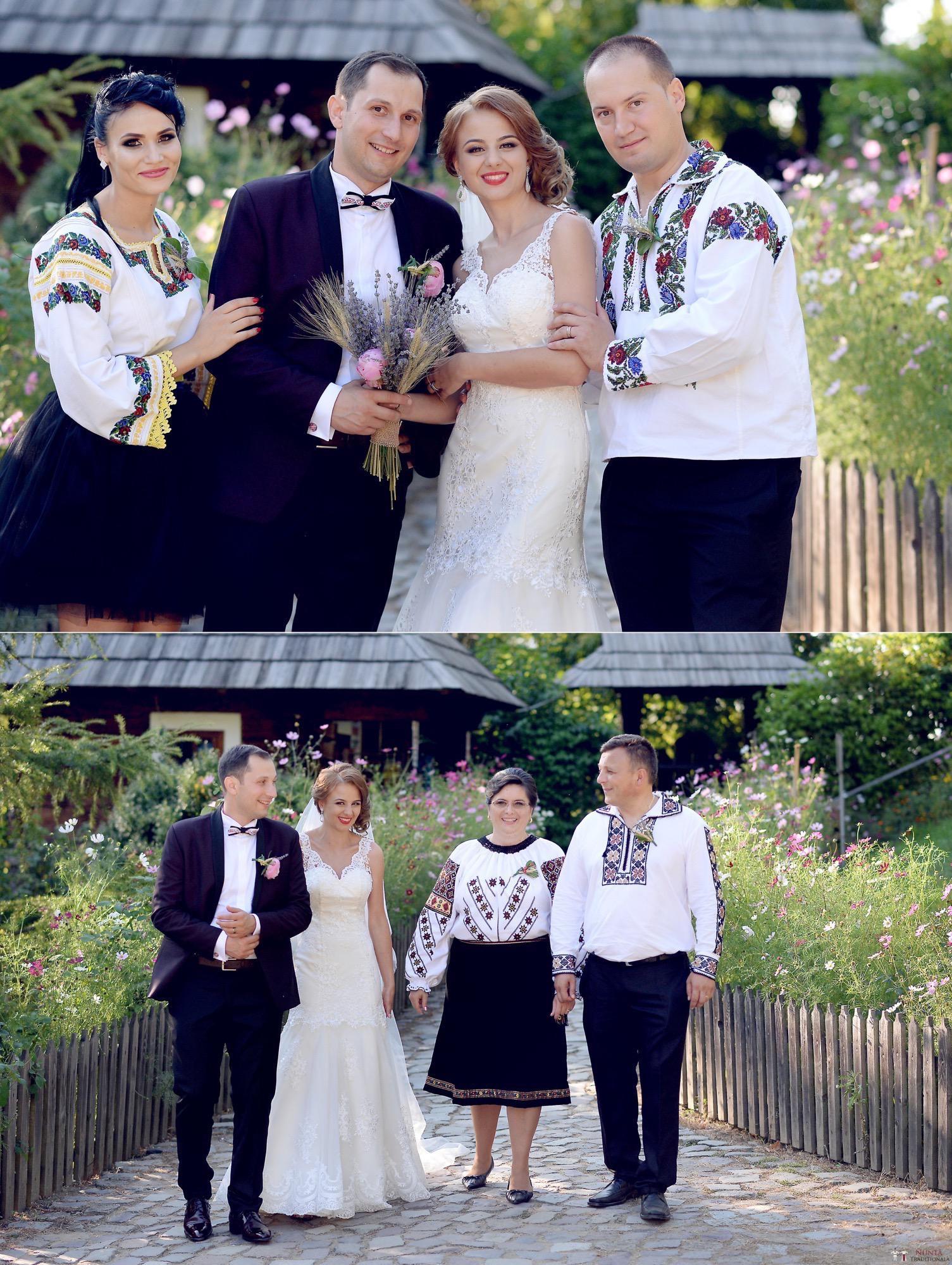 Povești Nunți Tradiționale - Iulia și Andrei. Nuntă tradițională în Bucovina. 71