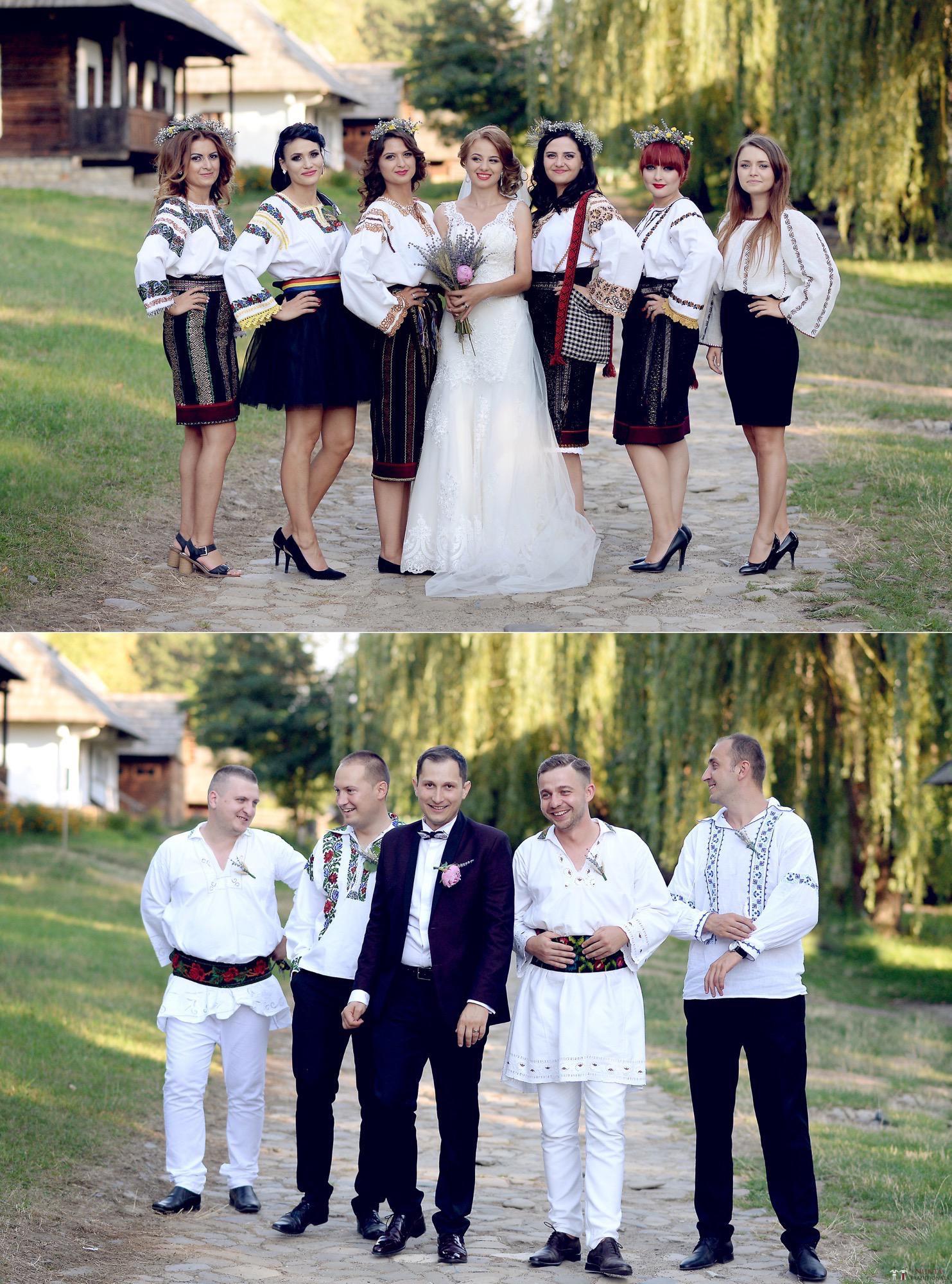 Povești Nunți Tradiționale - Iulia și Andrei. Nuntă tradițională în Bucovina. 72