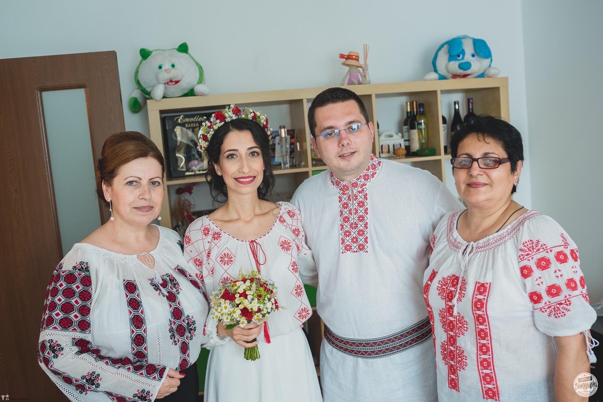 Povești Nunți Tradiționale - Georgiana și Adrian. Nuntă tradițională în București. 16