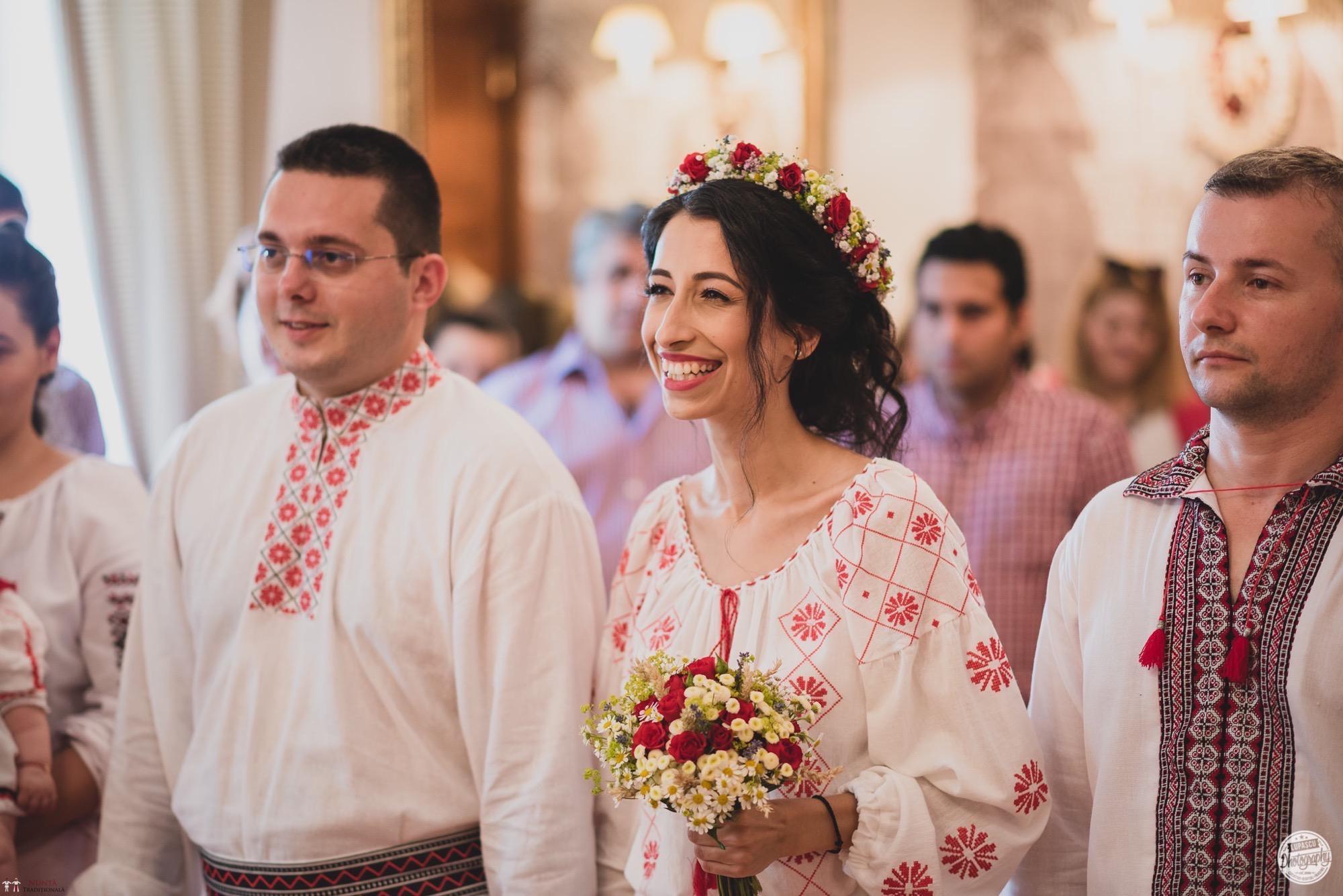 Povești Nunți Tradiționale - Georgiana și Adrian. Nuntă tradițională în București. 18