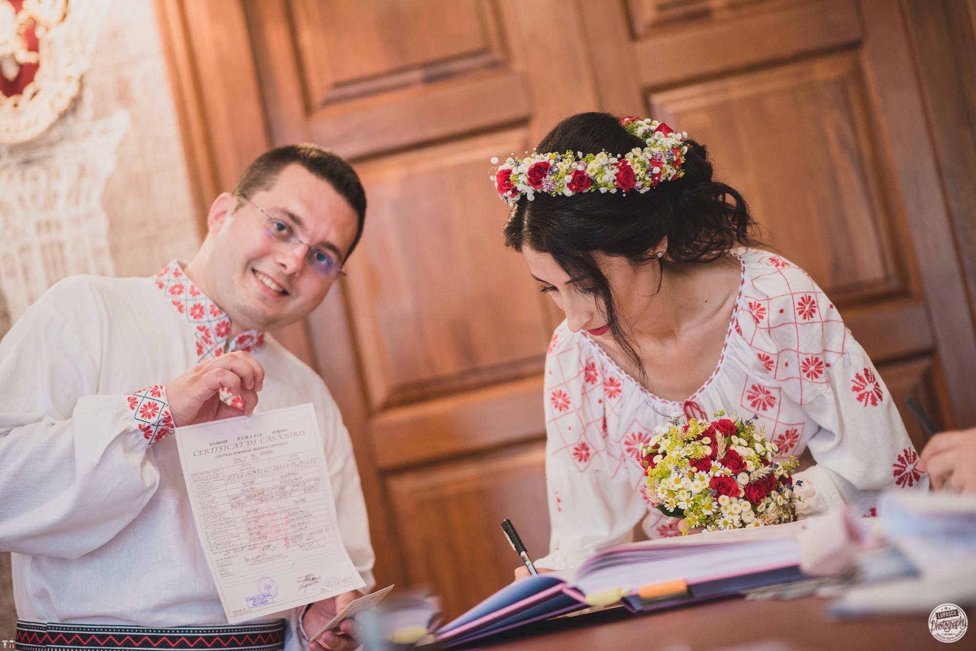 Povești Nunți Tradiționale - Georgiana și Adrian. Nuntă tradițională în București. 19