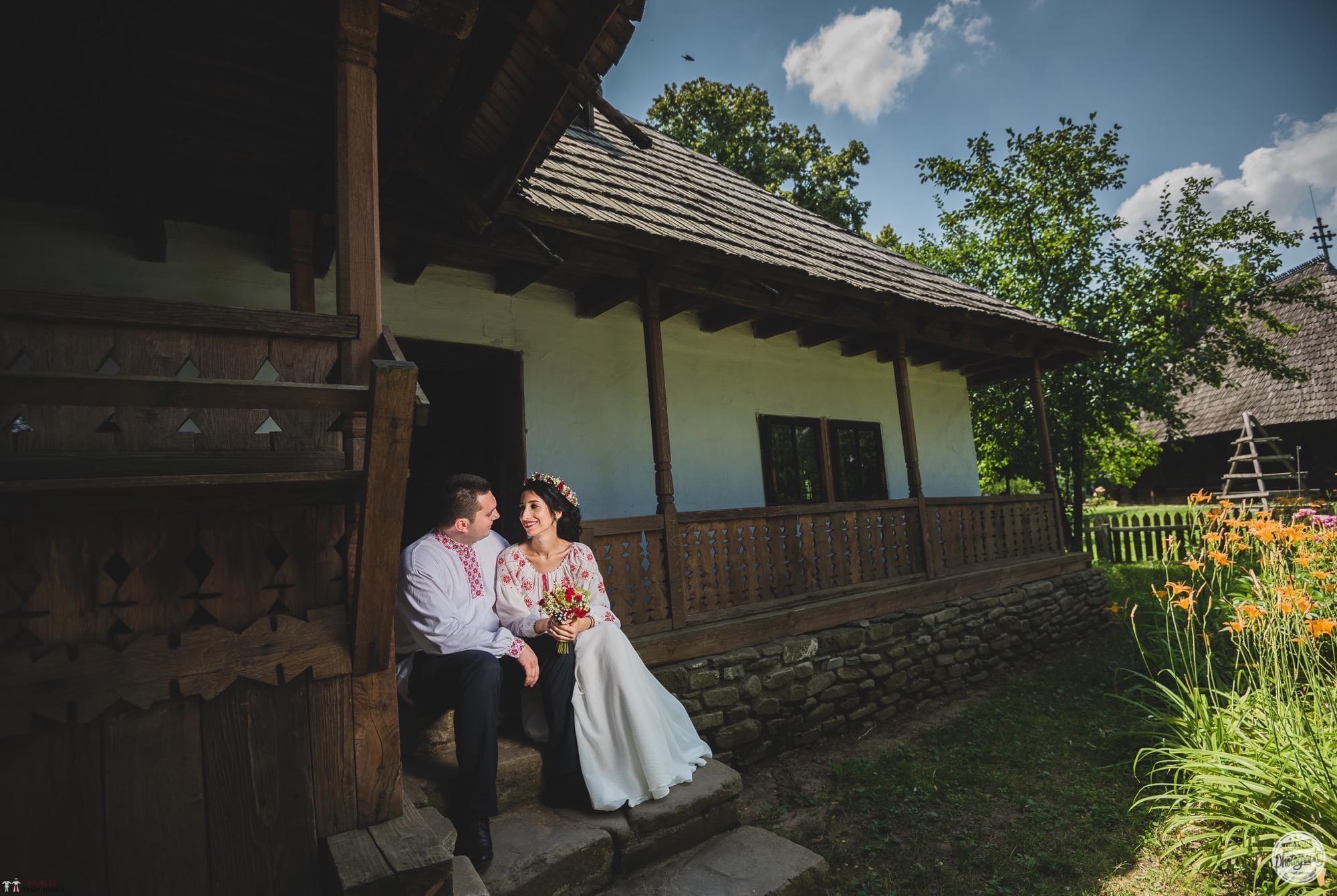 Povești Nunți Tradiționale - Georgiana și Adrian. Nuntă tradițională în București. 32