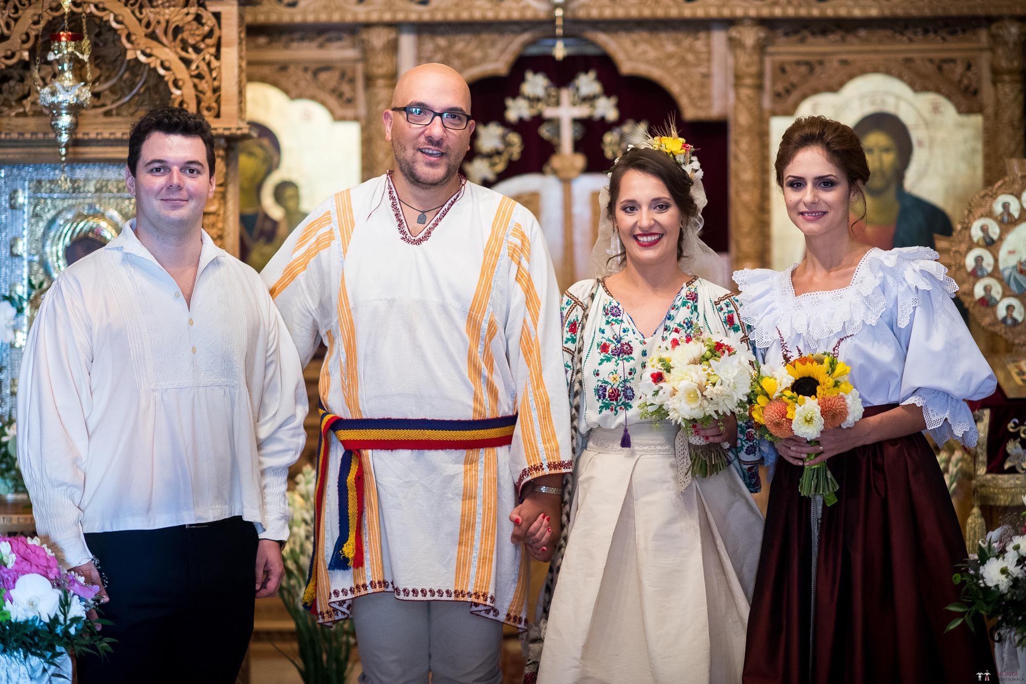 Povești Nunți Tradiționale - Ioana și Andrei. Nuntă tradițională în București. 27
