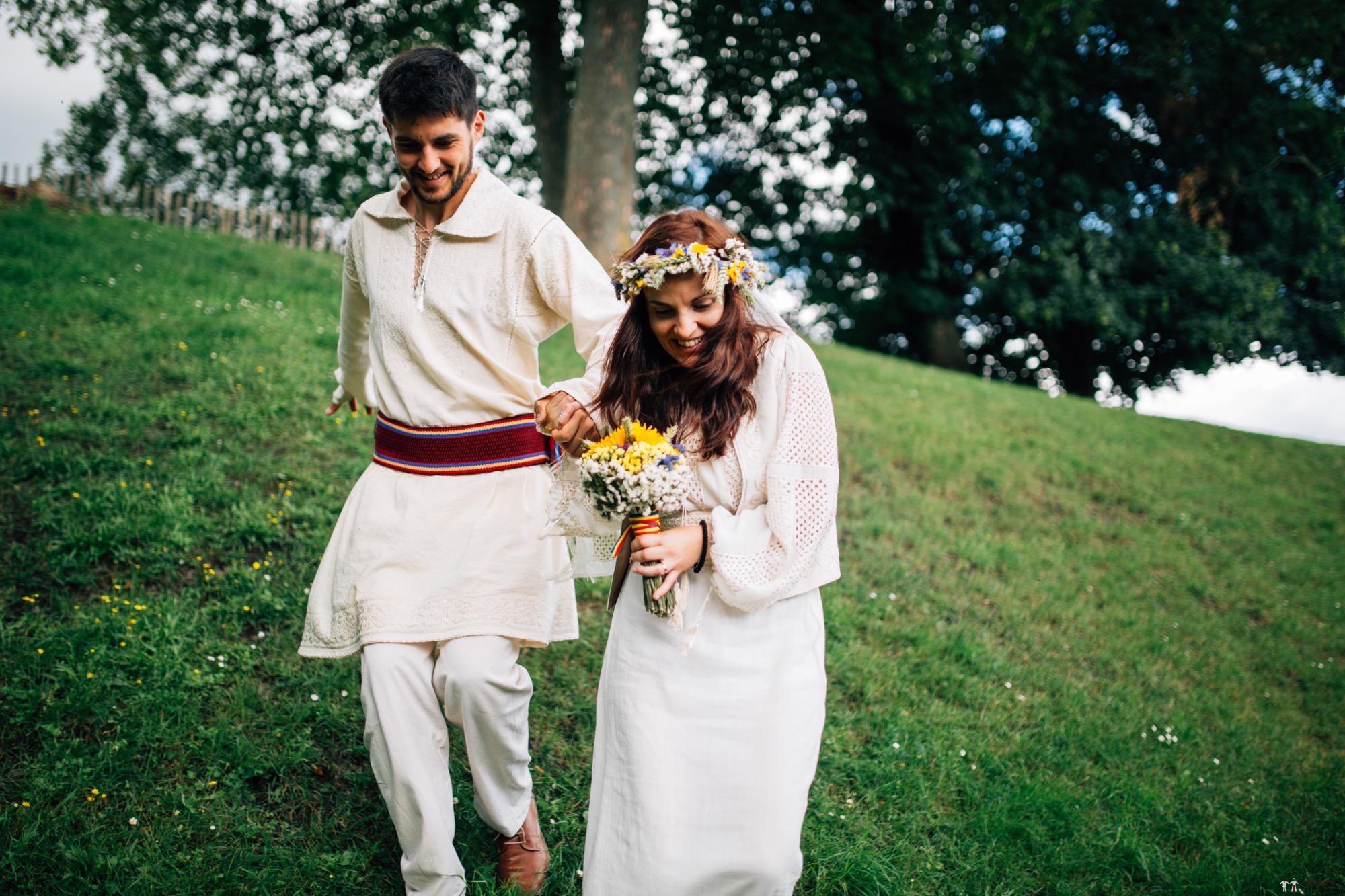 Povești Nunți Tradiționale - Gabriela și Iulian. Nuntă românească în Belgia. 9