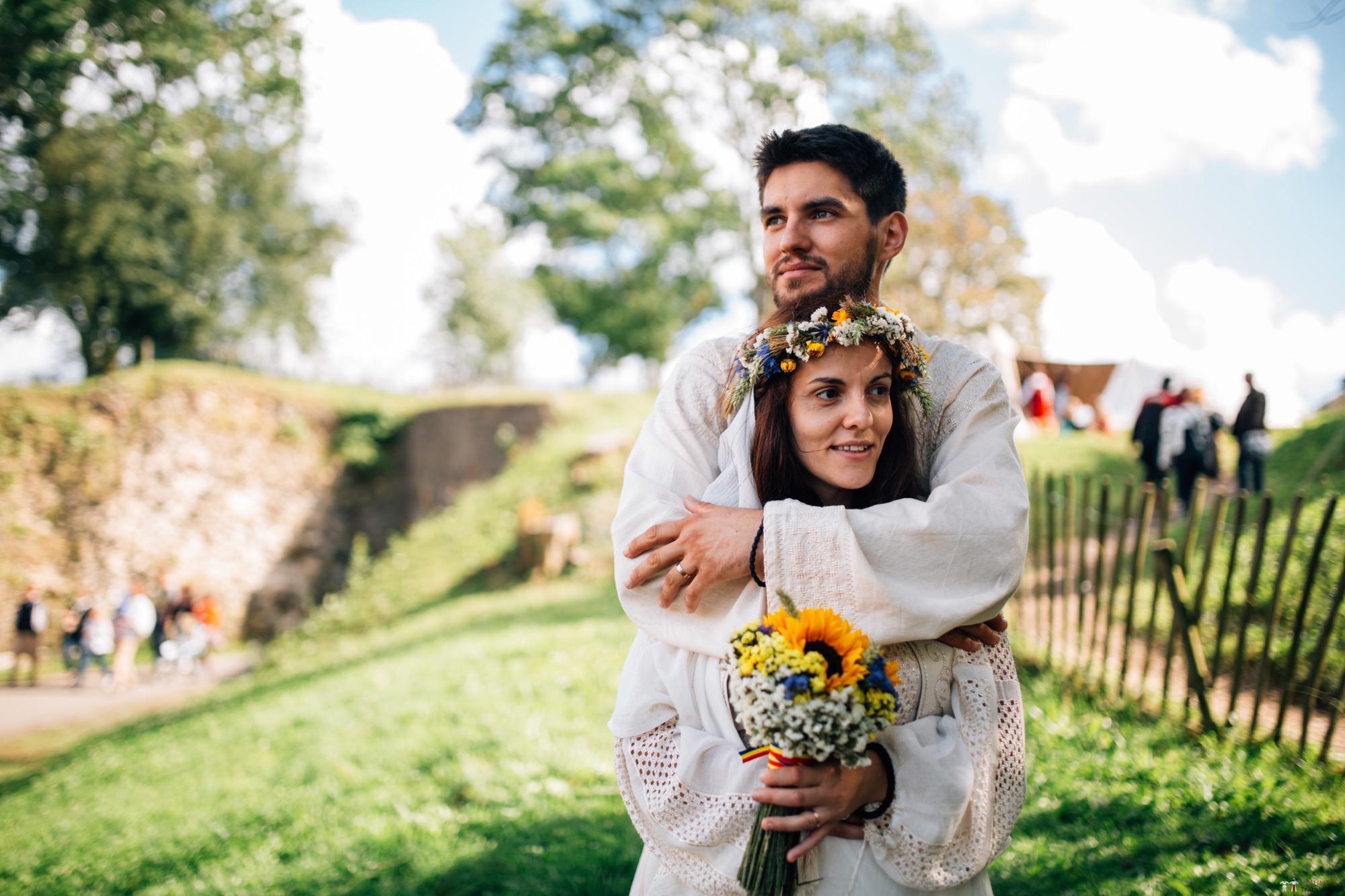 Povești Nunți Tradiționale - Gabriela și Iulian. Nuntă românească în Belgia. 12