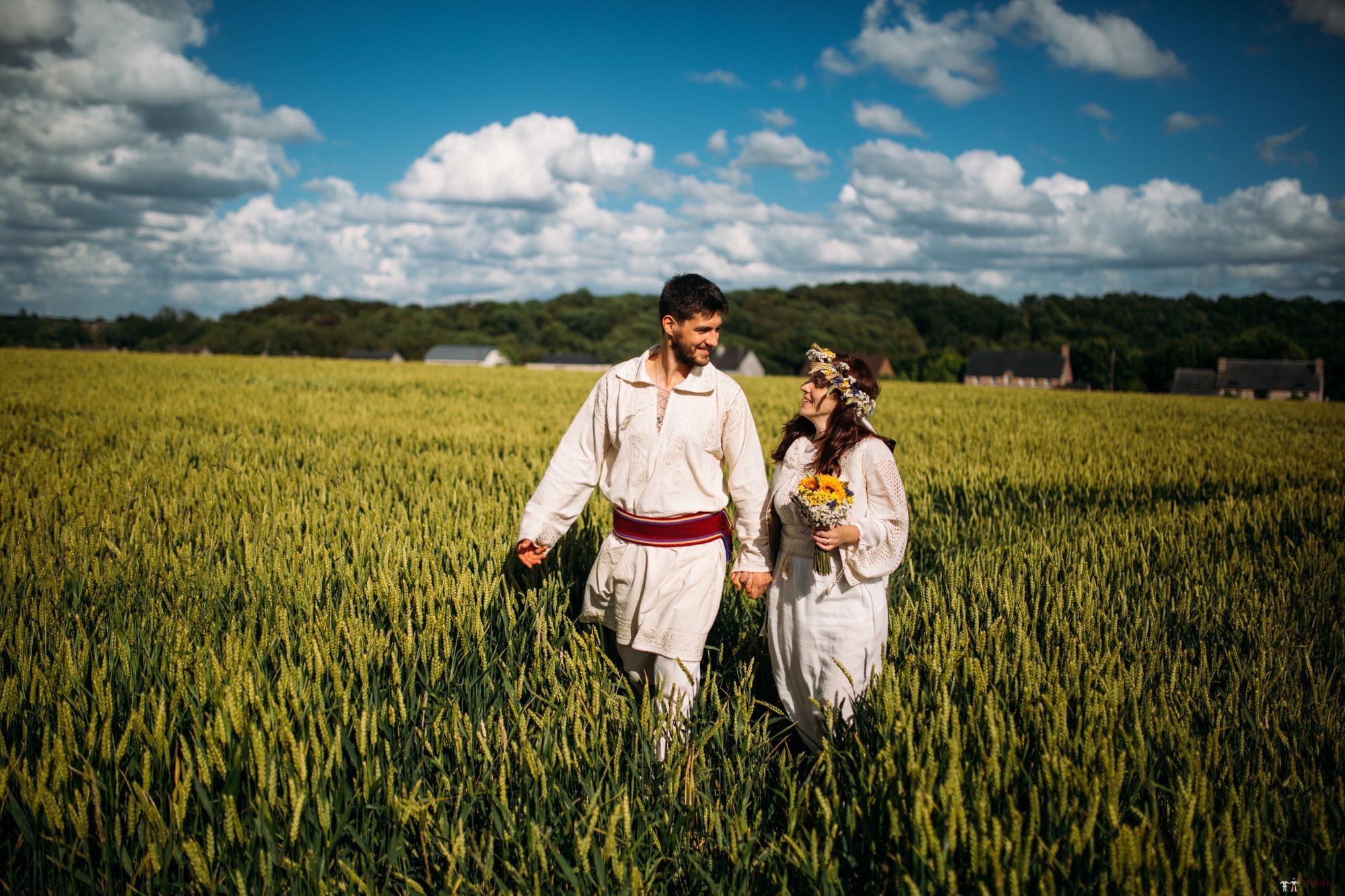 Povești Nunți Tradiționale - Gabriela și Iulian. Nuntă românească în Belgia. 16