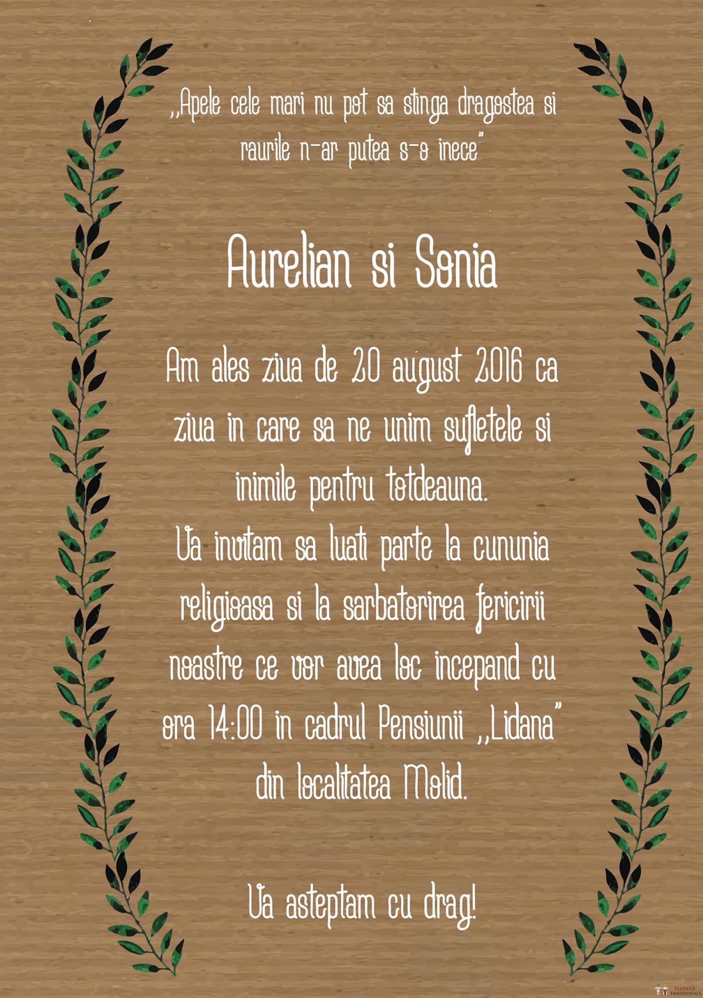 Povești Nunți Tradiționale - Aurelian și Sonia. Nuntă tradițională în Câmpulung Moldovenesc 50