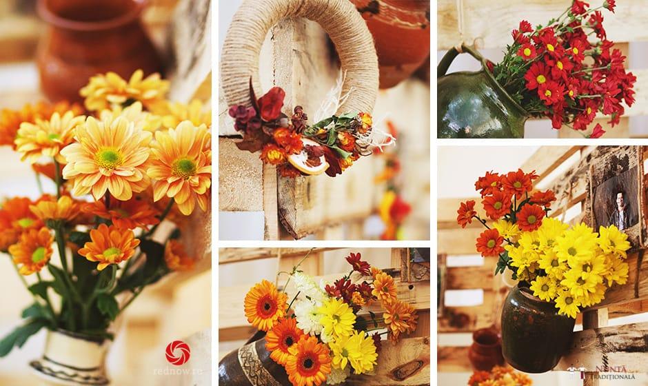 Idei și Sfaturi - Idei decorațiuni și aranjamente florale în stil tradițional 13