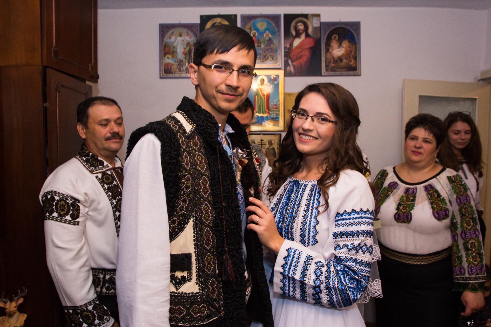 Povești Nunți Tradiționale - Ioana-Alexandra și Bogdan-Vasile. Nuntă tradițională în Fălticeni 6