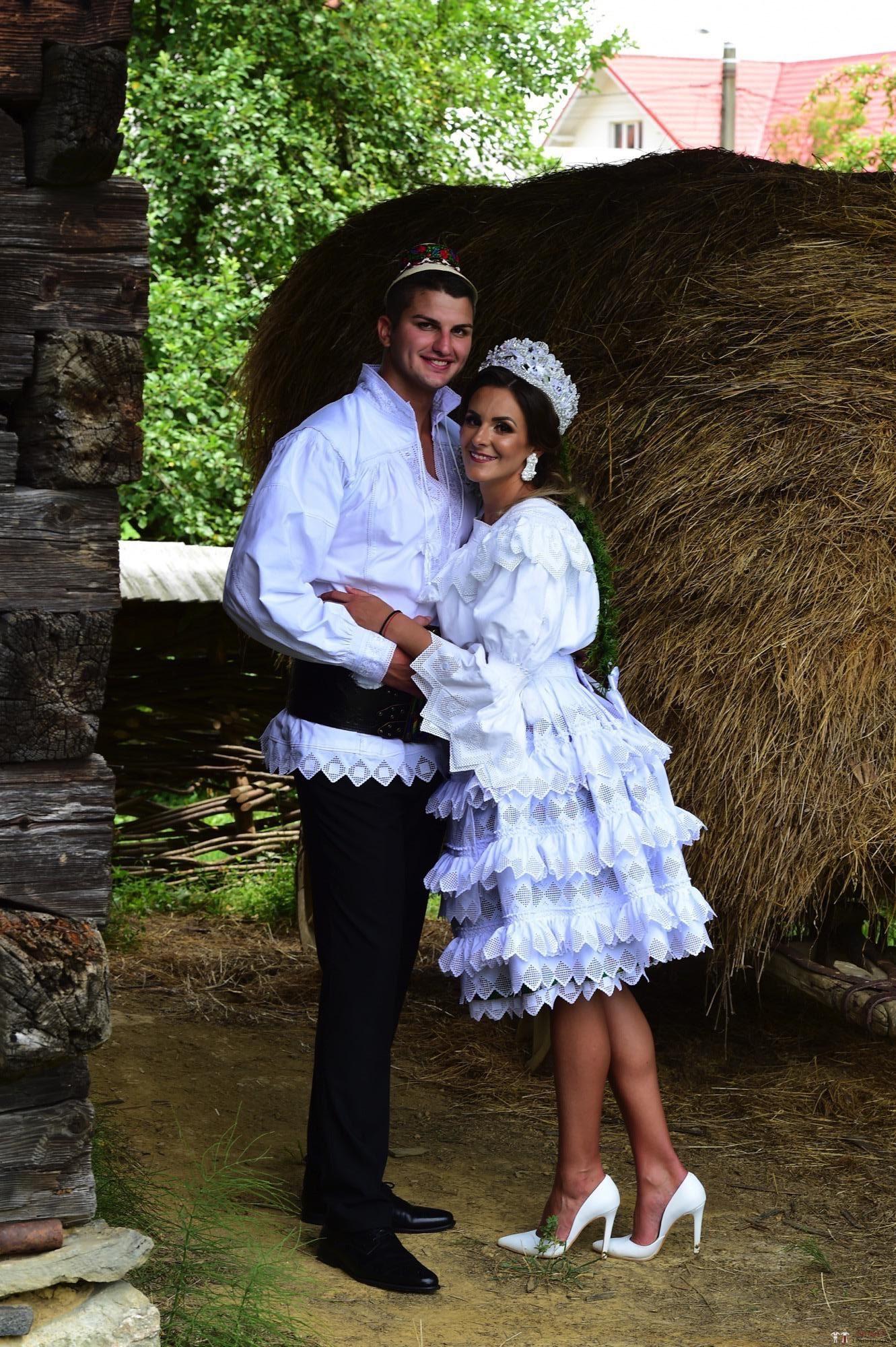 Povești Nunți Tradiționale - Florentina Vlad și Lemnean Ionuț. Cununie tradițională în Baia Mare 9