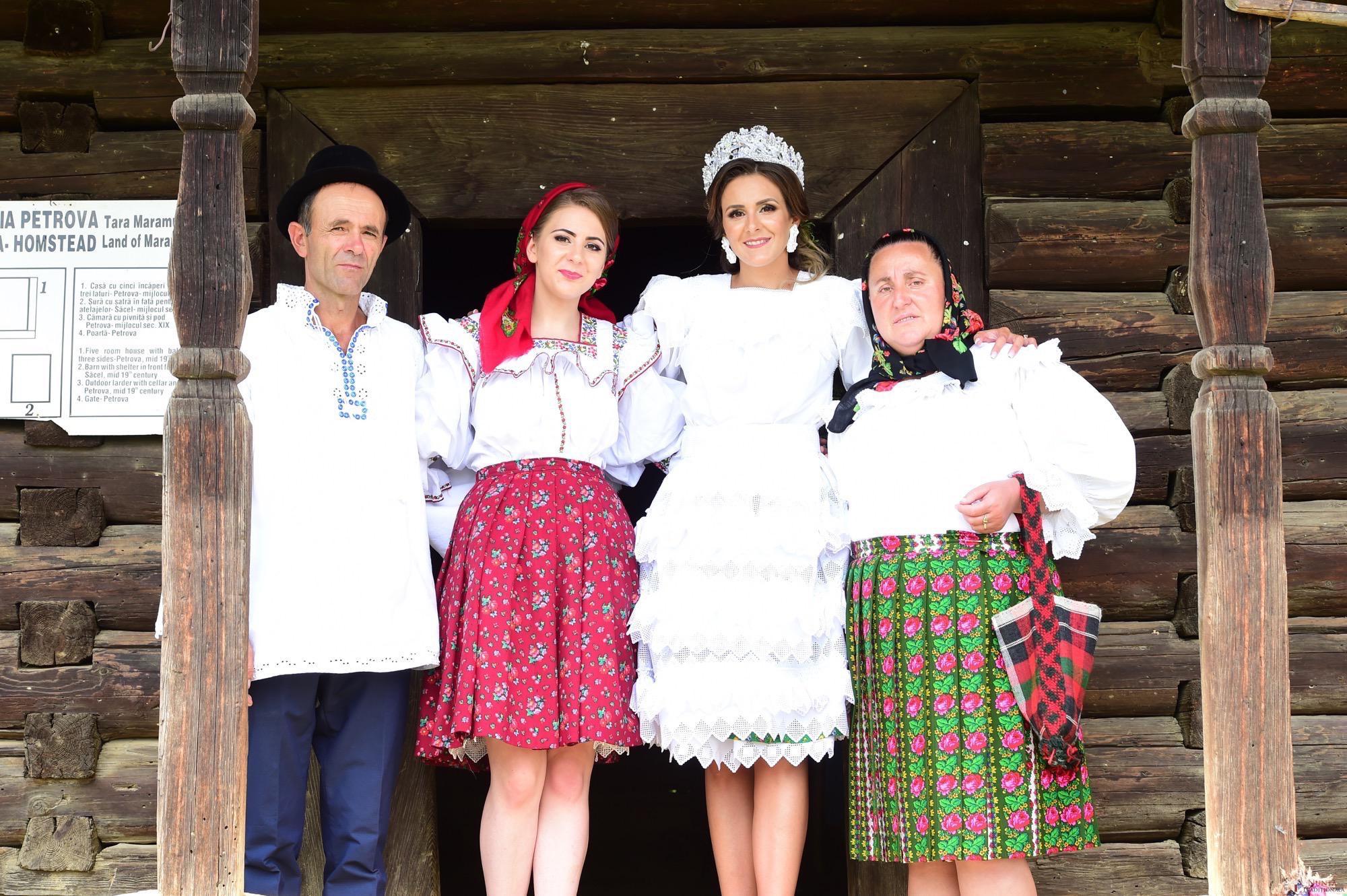 Povești Nunți Tradiționale - Florentina Vlad și Lemnean Ionuț. Cununie tradițională în Baia Mare 11