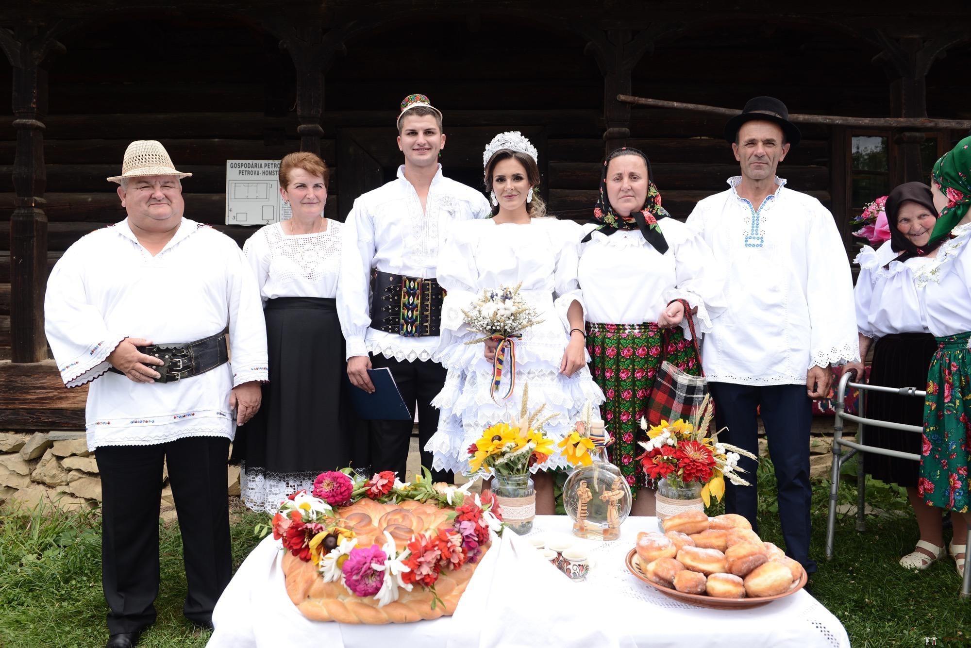 Povești Nunți Tradiționale - Florentina Vlad și Lemnean Ionuț. Cununie tradițională în Baia Mare 20