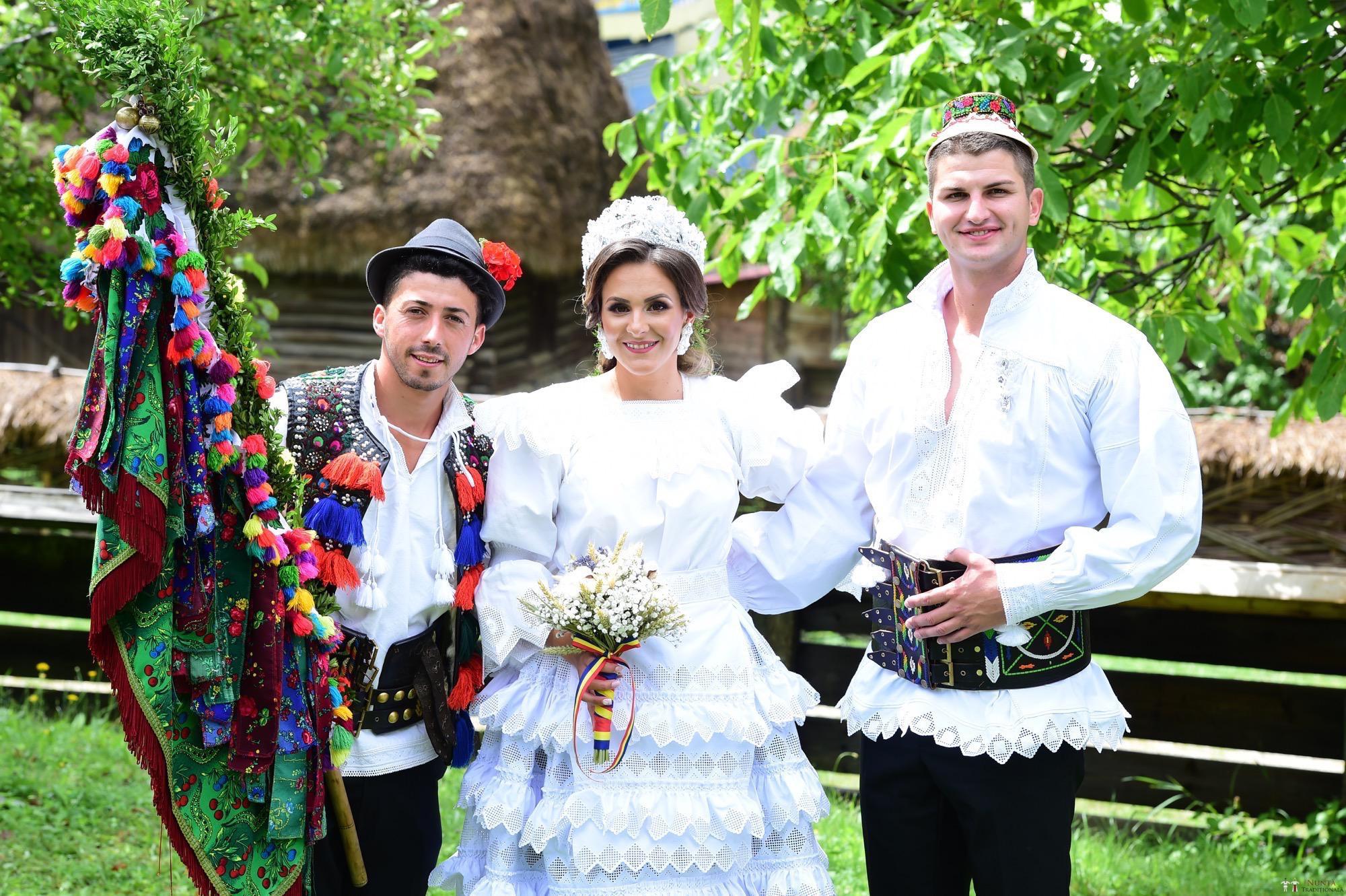 Povești Nunți Tradiționale - Florentina Vlad și Lemnean Ionuț. Cununie tradițională în Baia Mare 3