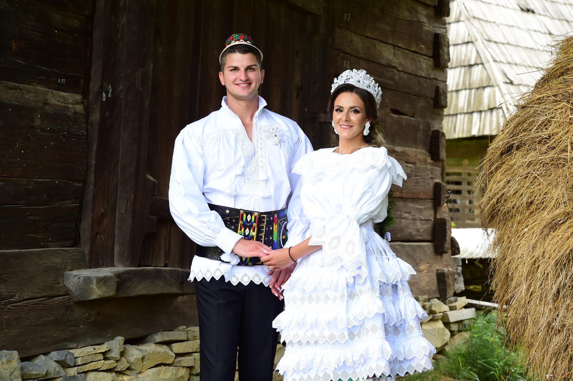 Povești Nunți Tradiționale - Florentina Vlad și Lemnean Ionuț. Cununie tradițională în Baia Mare 5