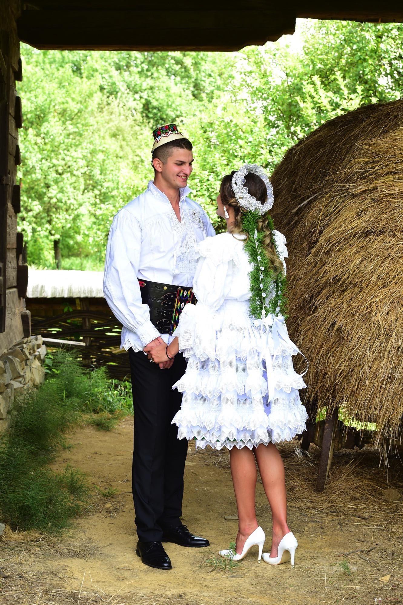 Povești Nunți Tradiționale - Florentina Vlad și Lemnean Ionuț. Cununie tradițională în Baia Mare 7