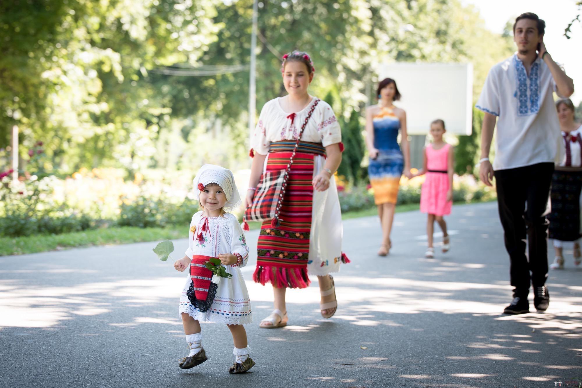 Povești Nunți Tradiționale - Oana și Silviu. Nuntă tradițional românească în București