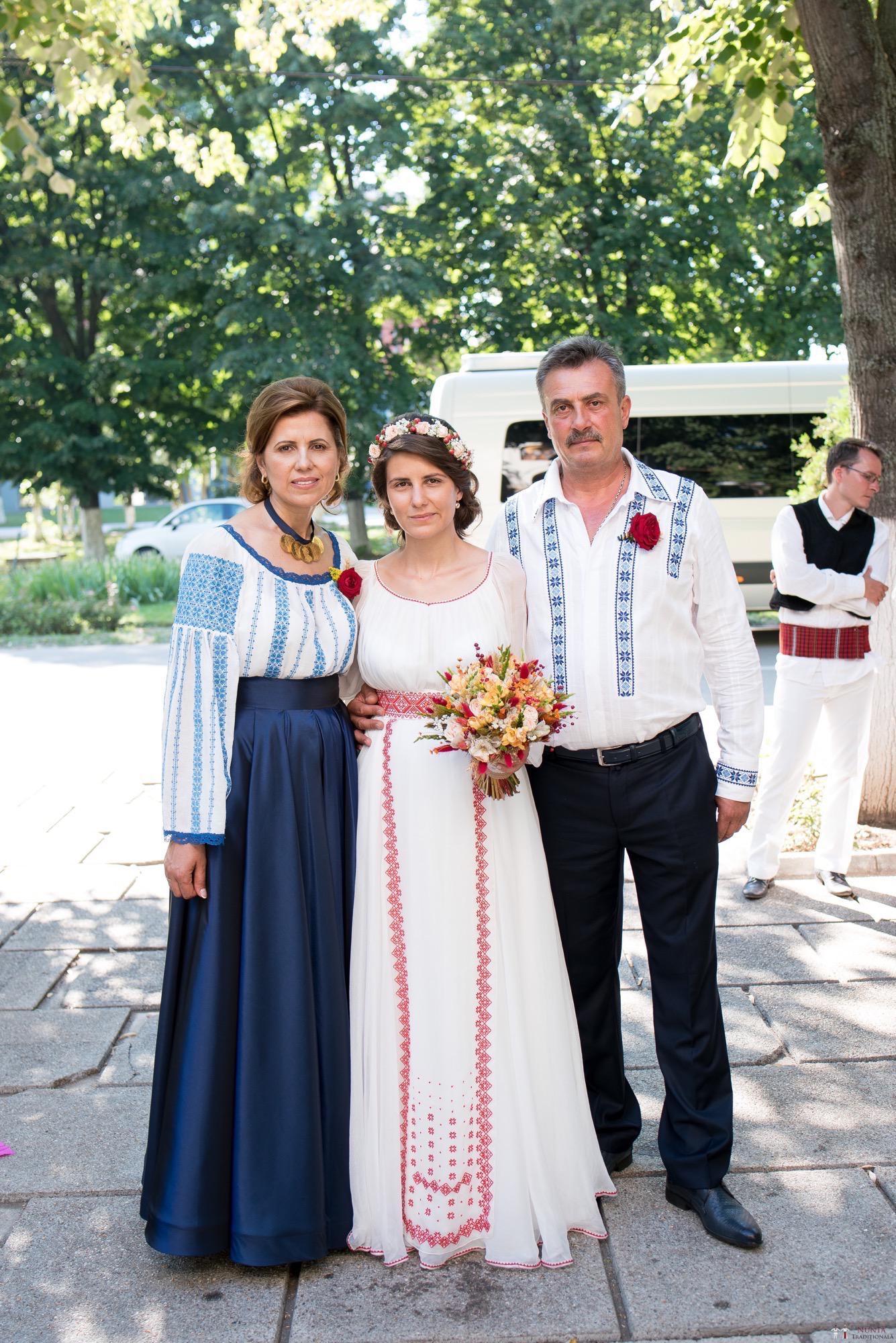 Povești Nunți Tradiționale - Oana și Silviu. Nuntă tradițional românească în București 18