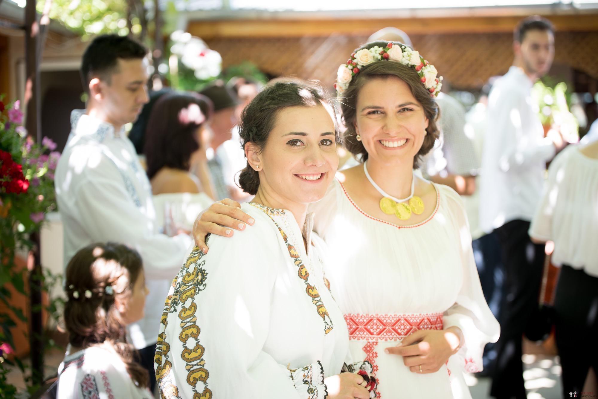 Povești Nunți Tradiționale - Oana și Silviu. Nuntă tradițional românească în București 43