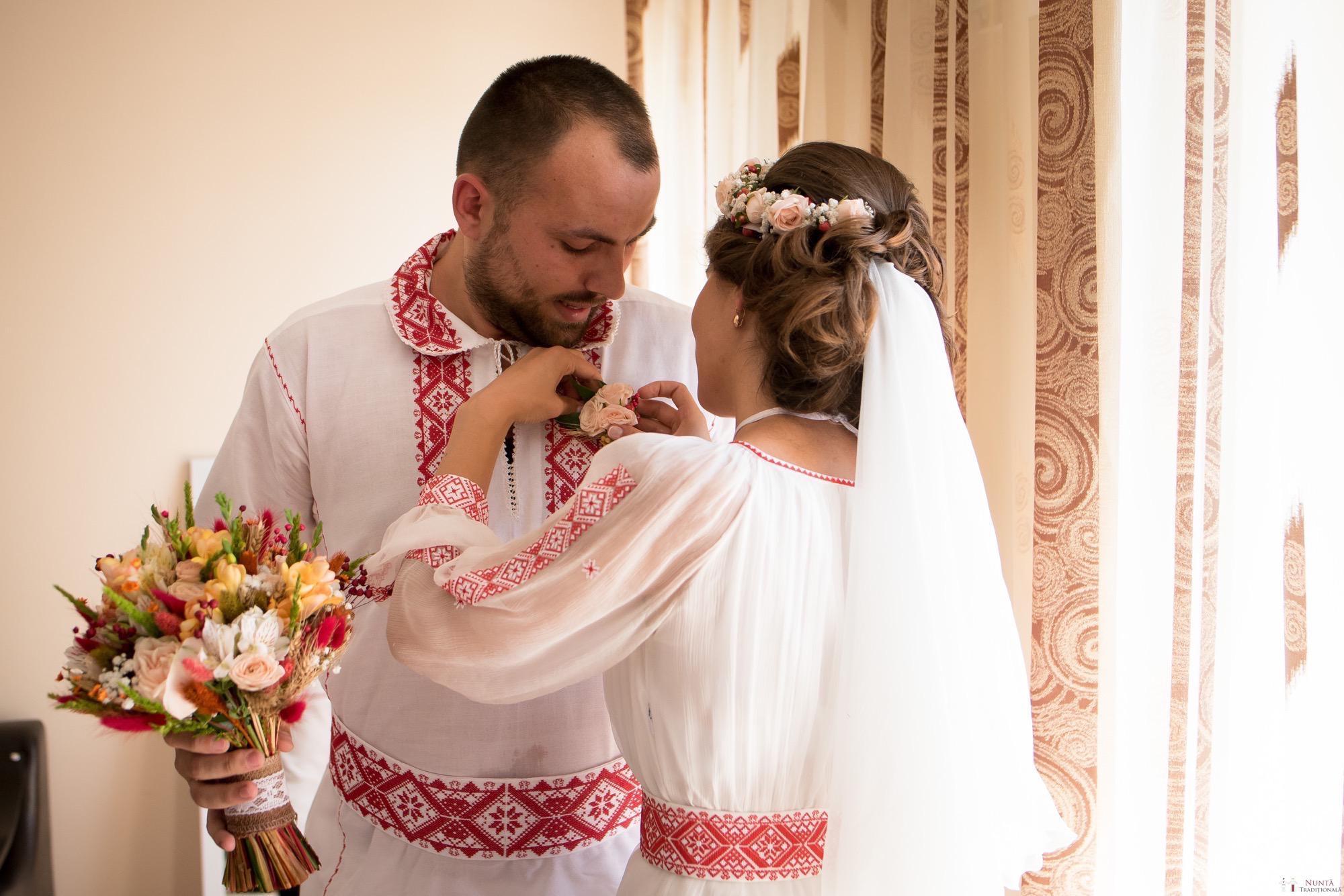 Povești Nunți Tradiționale - Oana și Silviu. Nuntă tradițional românească în București 53