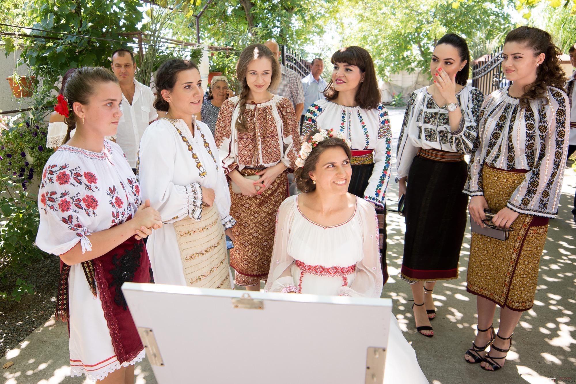 Povești Nunți Tradiționale - Oana și Silviu. Nuntă tradițional românească în București 33