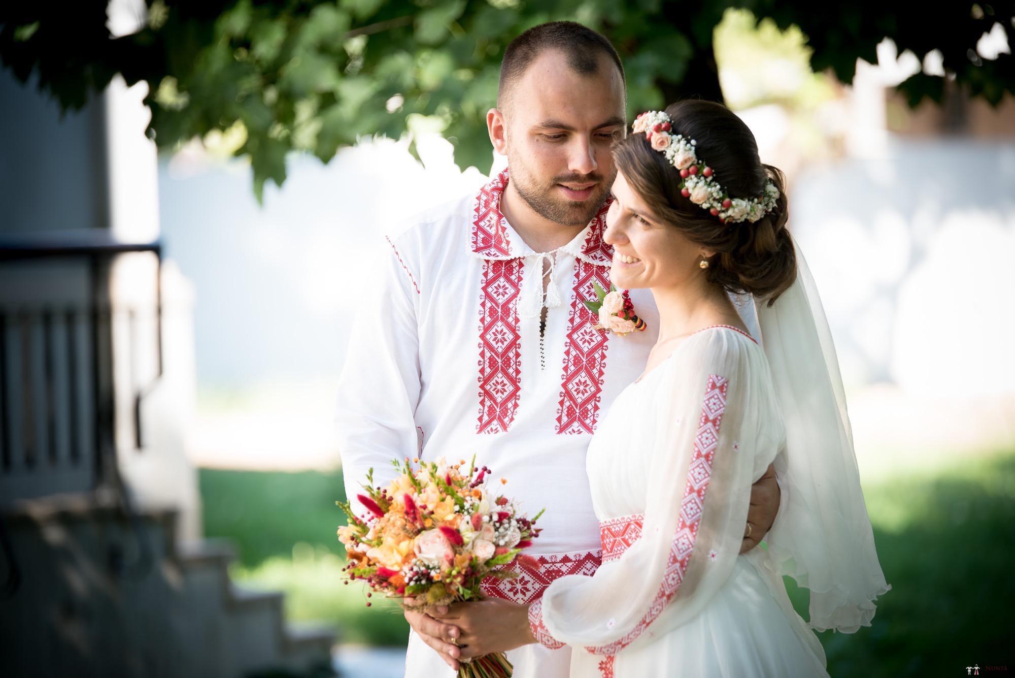 Povești Nunți Tradiționale - Oana și Silviu. Nuntă tradițional românească în București 129