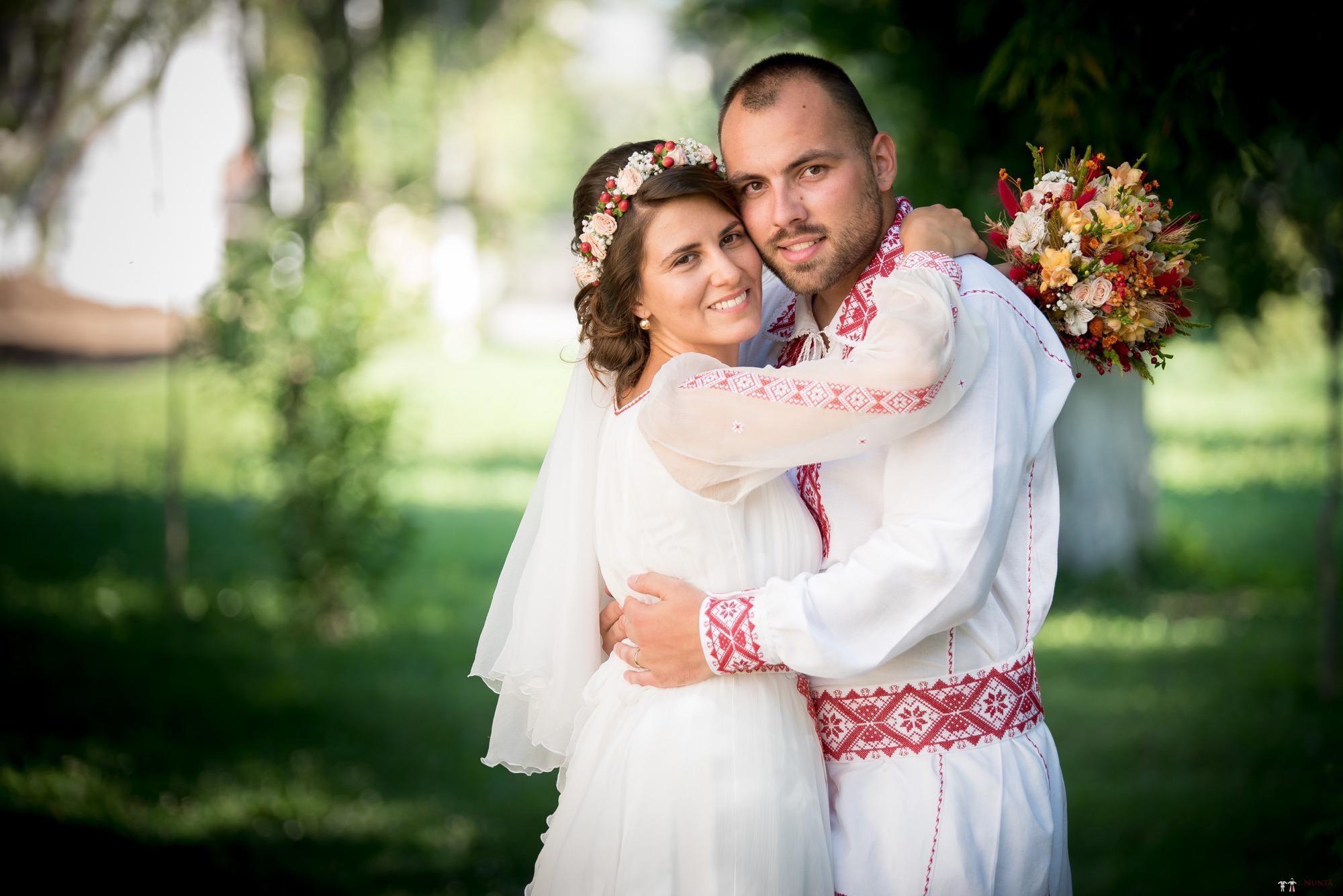 Povești Nunți Tradiționale - Oana și Silviu. Nuntă tradițional românească în București 132