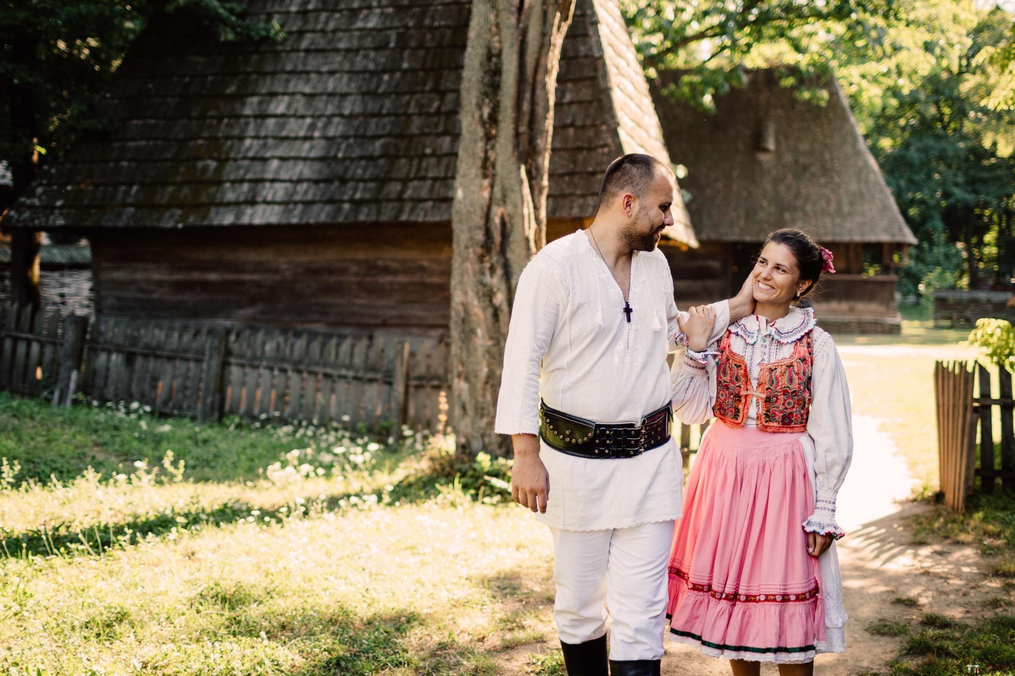 Povești Nunți Tradiționale - Oana și Silviu. Nuntă tradițional românească în București 122